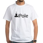 iPole Stripper White T-Shirt