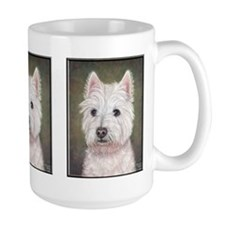 Westie (head study) Coffee Mug