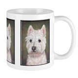 Westie (head study) Mug