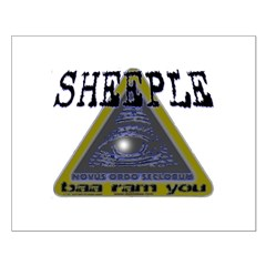 Sheeple NWO Posters
