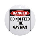 Gas Man Ornament (Round)