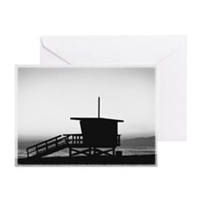 Lifeguard Shack Greeting Cards (Pk of 10)