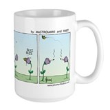 """Flowers Smoking"" Mug"