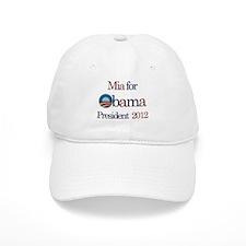 Mia for Obama 2012 Baseball Cap
