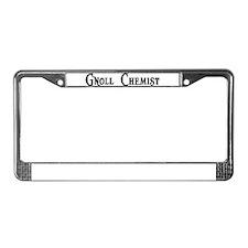 Gnoll Chemist License Plate Frame