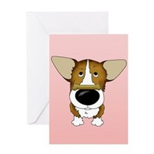 Corgi Valentine's Day Greeting Card
