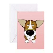 Corgi Valentine's Day Greeting Cards (Pk of 20)