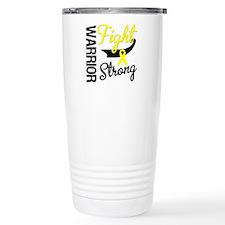 Sarcoma Warrior Fight Travel Mug