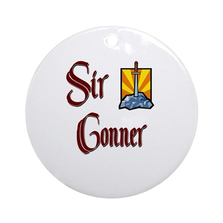 Sir Conner Ornament (Round)