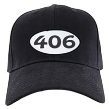 406 Area Code Baseball Hat