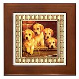 Labrador framed tiles Framed Tiles