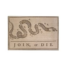 Cute American revolution Rectangle Magnet