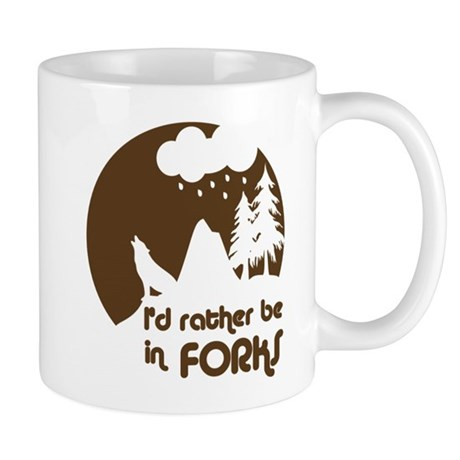 I'd rather be in Forks Mug