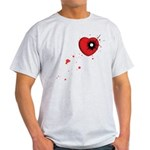 Bullet Hole Heart Light T-Shirt
