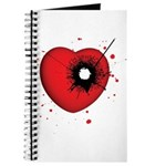 Bullet Hole Heart Journal