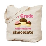 Funny 1st Grade Tote Bag