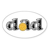 Polo Dad Oval Decal