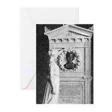 Poe's Grave Greeting Cards (Pk of 10)