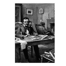 Poe's Study Postcards (Package of 8)