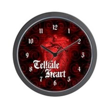Telltale Heart Wall Clock