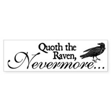 Raven Nevermore Bumper Sticker (50 pk)
