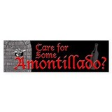 Amontillado Bumper Bumper Sticker