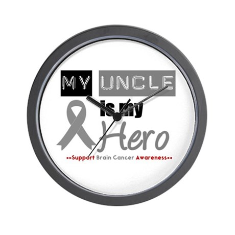 Brain Cancer Uncle Wall Clock