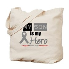Brain Cancer Son Tote Bag