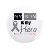 "Brain Cancer Son 3.5"" Button (100 pack)"