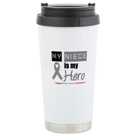 Brain Cancer Niece Ceramic Travel Mug