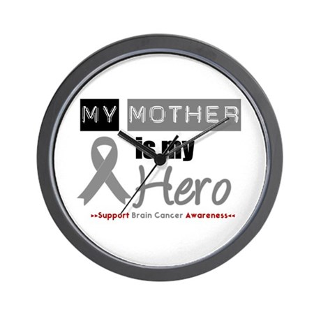 Brain Cancer Mother Wall Clock