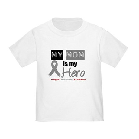 Brain Cancer Mom Toddler T-Shirt