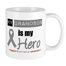 Brain Cancer Grandson Mug