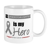 Brain Cancer Granddaughter Mug