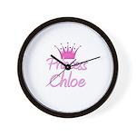 Princess Chloe Wall Clock