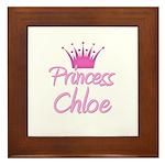 Princess Chloe Framed Tile
