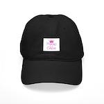 Princess Chloe Black Cap