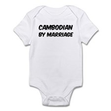Cambodian by marriage Infant Bodysuit
