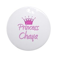 Princess Chaya Ornament (Round)