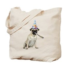 Pug Party Tote Bag