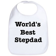 Worlds Best Stepdad Bib
