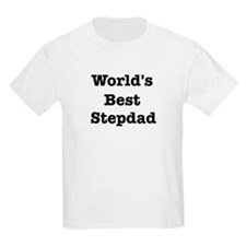 Worlds Best Stepdad T-Shirt