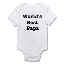 Worlds Best Papa Infant Bodysuit