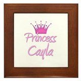 Princess Cayla Framed Tile