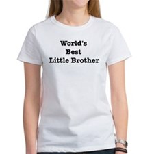 Worlds Best Little Brother Tee