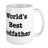 Worlds Best Godfather Ceramic Mugs