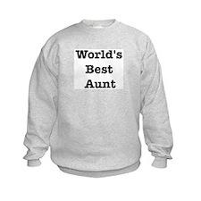 Worlds Best Aunt Sweatshirt