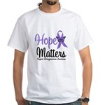 Leiomyosarcoma Hope White T-Shirt