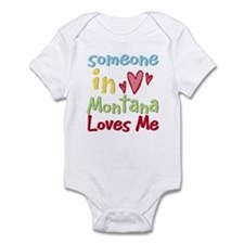 Someone in Montana Loves Me Infant Bodysuit