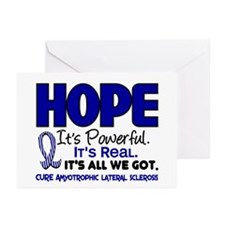 HOPE ALS 1 Greeting Cards (Pk of 20)